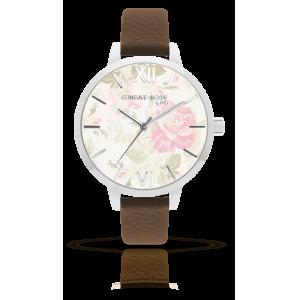 Dámské hodinky SUNDAY ROSE Alive VINTAGE FLOWERS