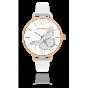 Dámské hodinky SUNDAY ROSE Alive BUTTERFLY SENSE